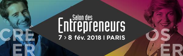 Salon des Entrepreneurs | 7 & 8 février 2018 | Palais des Congrès de Paris