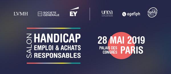 Salon Handicap, Emploi & Achats Responsables | 28 mai 2019